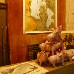 Paris - Way too much book browsing in Galerie Vivienne. I thought I started seeing flying pink pigs.