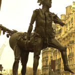 Centaur Paris. Steampunk is a current day phenomenon? No, maybe it goes back a few decades (1985). Le Centaure de César - Rue de Sèvres and Rue du Cherche-Midi in Paris.