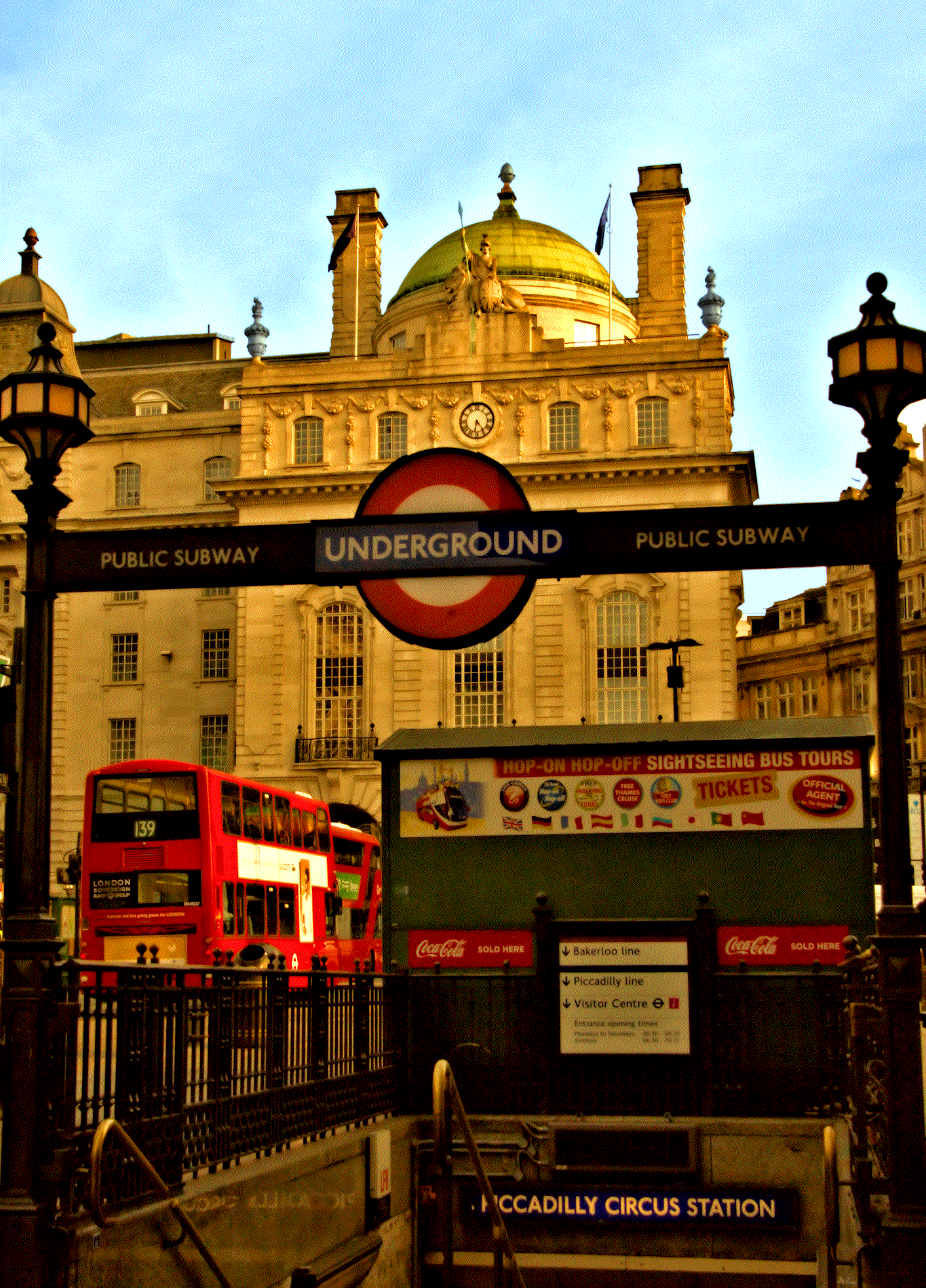 From Piccadilly London Photos - Week of the Sept. 11th to 15th