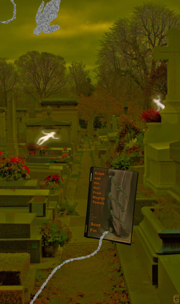 Not sure why Ralph likes to visit cemeteries. Shared astral plane maybe? And did he see more here than I did?